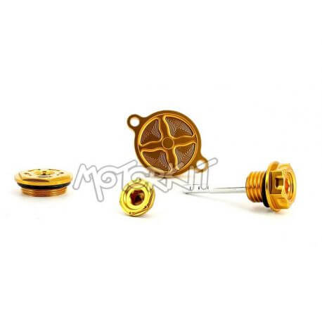 CNC dress up kit for Daytona Anima - Zongshen 190 - 4 pieces - 3 colors