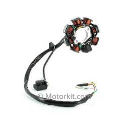 Ignition stator and pick up - version 2 for GY6 50cc Chinese 4T - 139QMB