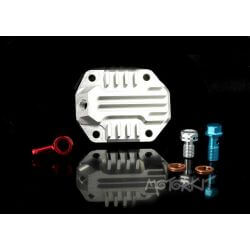 CNC upper cylinder head cover with air vent for Honda and Skyteam
