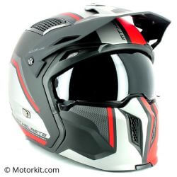 MT STREETFIGHTER SV full modulable helmet - Matte Red black white