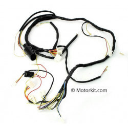 Wiring Harness for Derbi Senda DRD Pro 2010 and X-Treme 2010 and Aprilia SX - RX 2006 -2010