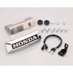 Kitaco chrome fork emblem for Honda Monkey 125