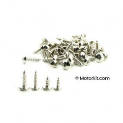 Set of 50 bolts 5 and 4mm body screws