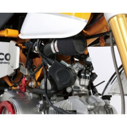 UNI air filter kit for Honda Monkey 125cc. By Kitaco