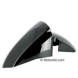 Black front fender for Peugeot Kisbee 2S and 4S - 50 and 125cc