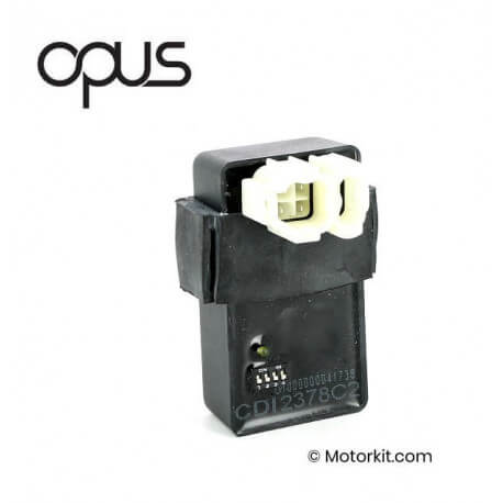 OPUS Racing CDI with selectable curve and adjustable limiter OPUS Racing CDI met selecteerbare curve en instelbare begrenzer for