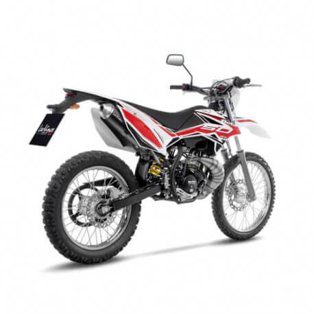 Exhaust Leovince X-Fight BETA RR 50 Enduro Sport Track Motard, without silencer