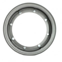 Gray steel rim 10 x 3.00 for Dax - Skyteam