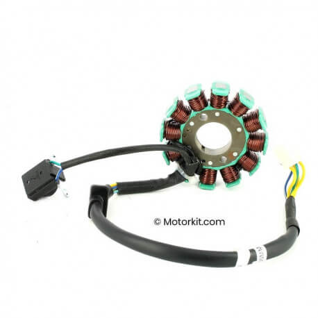 Ignition stator Dax Zhenhua - Skyteam - TNT City EURO 4 injection 50 - 125 cc - 12 poles