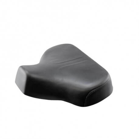 Triangular seat foam with Black cover for Peugeot 103