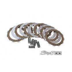 Stage6 set of 6 racing Kevlar clutch discs Derbi Euro 2 and 3