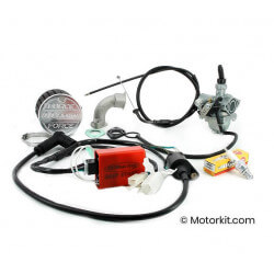Conversion of Rojo 50cc injection to CDI ignition with VM16 included