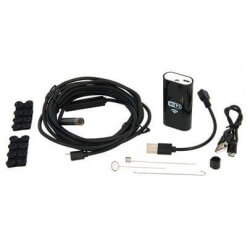 Wi-fi endoscope led camera