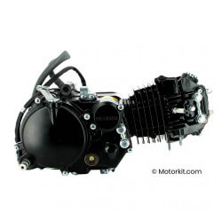 """YX 140 """"Type CRF"""" black engine with external oil filter"""