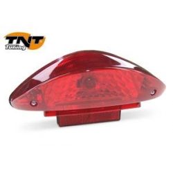 Standard taillight Nitro / Aerox / CPI , red lens , with bulb BA20D