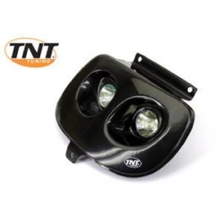 Optique de phare Booster Spirit twin tuning noire ou carbone