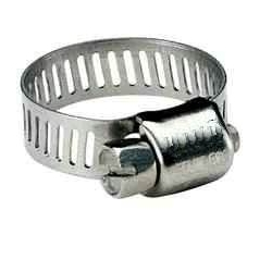 Stainless steel clamp - different diameters - Price per piece