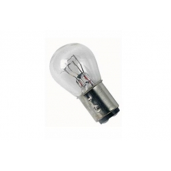 Achterlichtlamp 6V of 12V 21/5w - BAY15D : Doorzichtig of rode glas