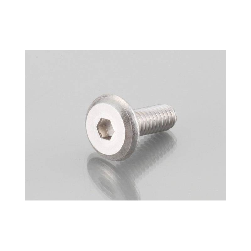 Flat Button Head Cap Bolts Stainless M6 x 15 P 1 0 price : 2