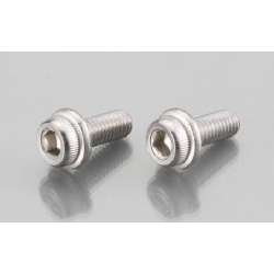 Cap Head Cap Bolts with flange Stainless M6 P 1.0