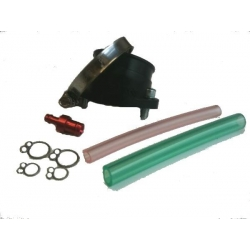 Rubber intake pipe for carburetor TDMR32