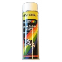 Motip paint 500ml gloss white