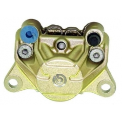 """Brembo remklauw """"Crab"""" 2 zuigers 84 mm - goud"""