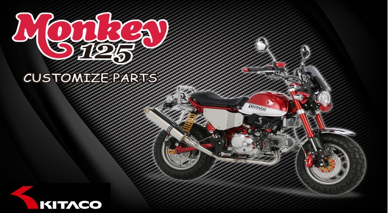Special parts for Honda Monkey 125cc